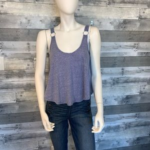Anthropologie We the Free Blue tank NWOT Sz. Small